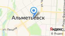 Альметьевское районное общество инвалидов на карте