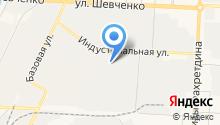 Керамзито-бетонный завод на карте