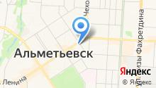 Банкомат, Камский коммерческий банк на карте