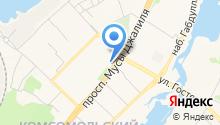 АБ-Автоэвакуатор на карте