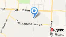 Аяз на карте