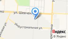 Альметьевский профиль на карте