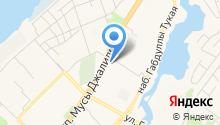 KoniCar на карте