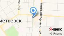 Альметьевская мемориальная компания на карте