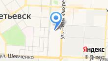 Елховнефть на карте