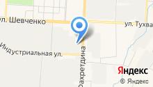 Ямашнефть на карте