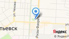 Мастерская по ремонту обуви на проспекте Тукая на карте