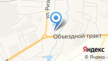 Нижегородский монолит на карте