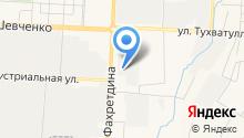 АЗС АТК на карте