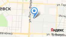 Альтат на карте