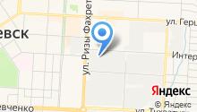 Альвинт на карте