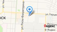 Автостоянка на ул. Автомобилистов на карте