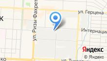АЗС Уфа на карте
