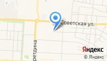 Магазин трикотажных изделий на ул. Нариманова на карте