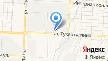 Елховтранссервис на карте