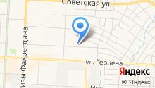 Альметьевский кожно-венерологический диспансер на карте