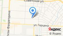 Магазин трикотажа на ул. Пугачёва на карте
