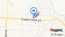 Альметьевский противотуберкулезный диспансер на карте