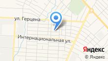 Альметьевская автошкола РОГО ДОСААФ Республики Татарстан на карте