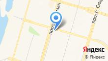 Баркас на карте