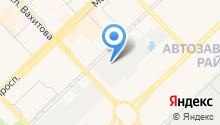 Airbag на карте