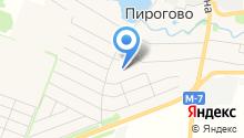 Профтент на карте