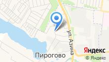 Администрация муниципального образования Пироговское на карте