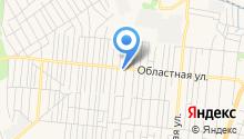 Автотехцентр на Областной на карте