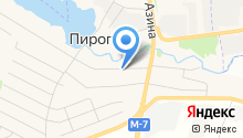 Егорова на карте