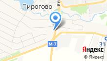 Пироговка на карте