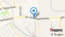1 отряд федеральной противопожарной службы по Удмуртской Республике, ФГКУ на карте