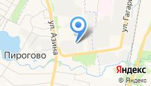 Наша баня на карте