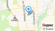 Pole dance Izhevsk на карте