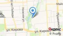 HelloW на карте