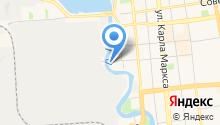 1С-ИжТиСи на карте