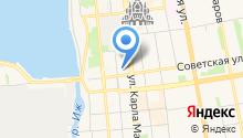 NVA студия на карте