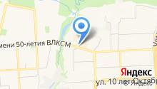 Comma на карте