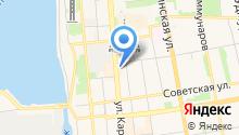 POSH на карте