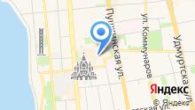 Park Inn by Radisson Izhevsk на карте