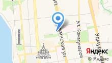 Amaks Центральная на карте