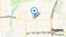 Inweb на карте