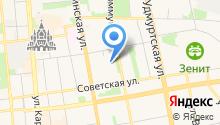 L на карте