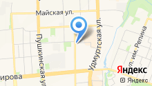 Ledservice на карте