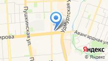 Эвакуатор-близко на карте