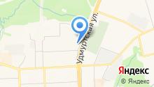 Comod на карте