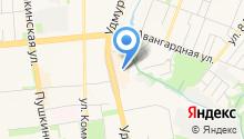 Izh-nozh на карте