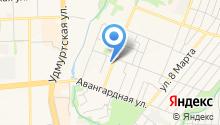 GM центр на карте