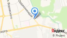 ГосОптика, ГУП на карте