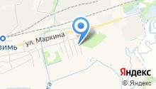 Autocold на карте