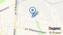 Krasivo на карте